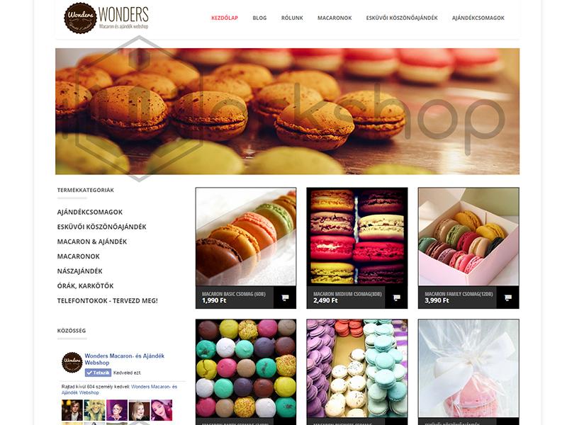 Wonders | Macaron- és Ajándék Webshop